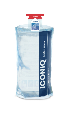 Amcor AquaFlexCan and the ICONIQ Water Pouch
